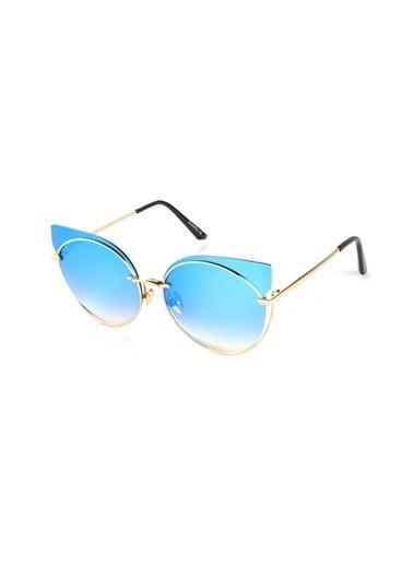 Di Caprio Güneş Gözlüğü Altın